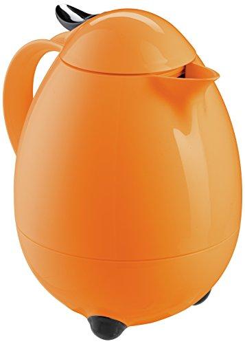 Leifheit Columbus - Thermos a caraffa da tavolo, colore: Arancione