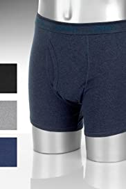 3 Pack - Pure Cotton Trunks [T14-4800F-S]