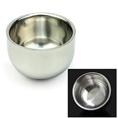 Best Cheap Deal for Ushoppingcart Hot Sale Men's Durable Shave Soap Cup Shinning Stainless Steel Shaving Mug Bowl New Year Holiday / Valentine's Day Gift for Men Father Boyfriend (Dream cup/7.5cm*5.2cm) by UZZO - Free 2 Day Shipping Available