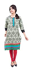 Krivi By Kk Women's Cotton Kurti (KRV-31-B_Multi-Coloured_M)