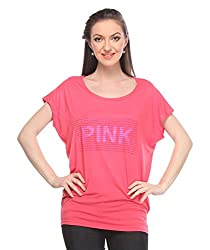 Wearsense Women's Top (Pink, Medium)