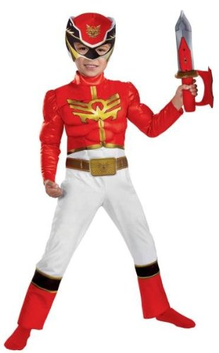 Costumes for all Occasions DG52862S Red Ranger Megaforce Tod 2t