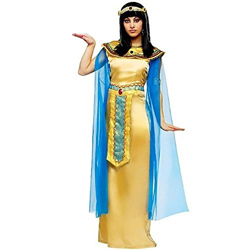 Fun World Womens Deluxe Cleopatra Halloween Party Dress Costume