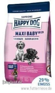Happy Dog 49107 Hundefutter Surpreme Maxi Baby GR29 15 kg