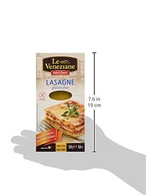 Le Veneziane Gluten Free Lasagne Sheets 250 G 2 Pack by Le Veneziane