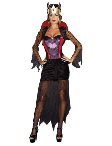Wicked Queen Adult Costume Lg 10-14 Adult Womens Costume