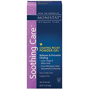 Monistat SootTing Care Chafing Relief Powder-Gel, 1.5-Ounce Tube