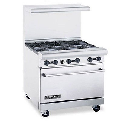 American-Range-AR-6-36-Wide-Range-with-6-Burners-1-Oven
