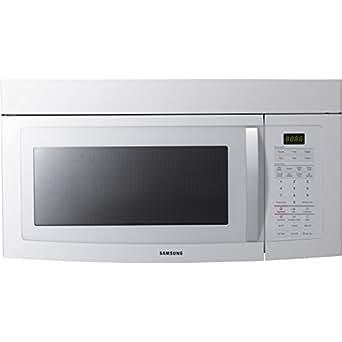 Samsung SMH1713W 1.7 Cu. Ft. White Over-the-Range Microwave