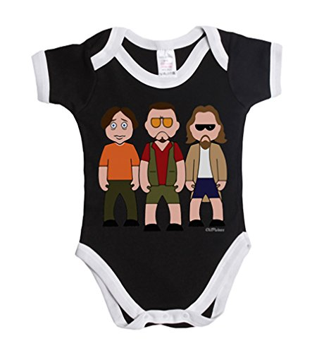 Vipwees Dude And Co Bowling Team Baby Grow Vest Retro Clothes Movie Gift