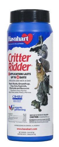 Havahart Critter Ridder 3142 Animal Repellent Granular 2-Pounds