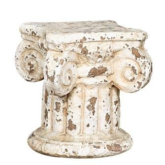 Why Should You Buy Distressed Cream Column Pedestal Candle Holder