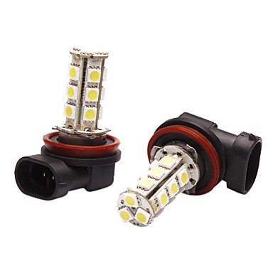 Rayshop - Led Car Light With 18 Glittering Leds In White Light (3.6W, 5050, Lumen(Lm) 230, Color Temperature 6000-6500K, 12V)