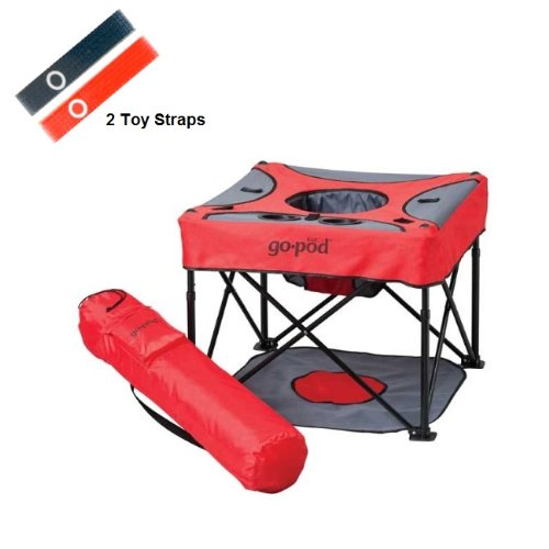 Kidco Go Pod With Toy Straps, Cardinal front-946668