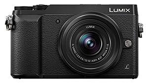 Panasonic DMC-GX80KEBK Digital Single Lens Mirrorless camera - Black with Lumix G VARIO 12-32mm Lens (16MP, 4K, LVF, 3.0 Tilt LCD, Wi-Fi)