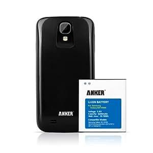 Anker® 5200mAh Power Akku mit schwarzem Akkufachdeckel für Samsung Galaxy S4 S IV SIV, I9500, I9505 - mit NFC / Google Wallet