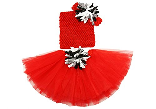 Wholesale Princess Tutu Gift Set Red and Black