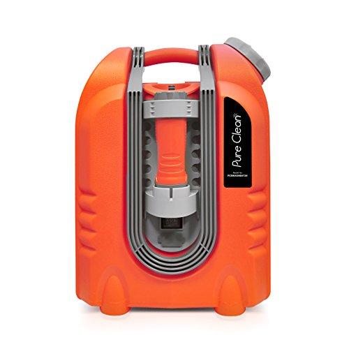 Pure clean pcrwashbat29 portable spray washer w flash light power