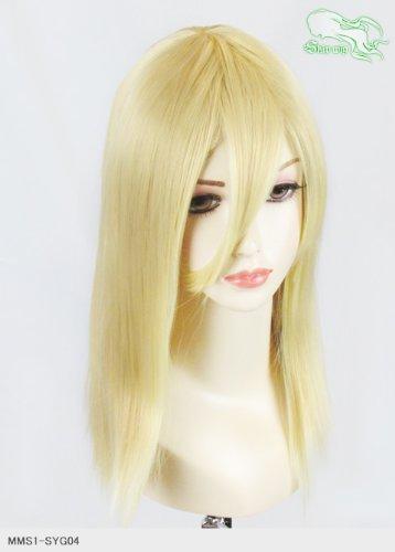 スキップウィッグ 魅せる シャープ 小顔に特化したコスプレアレンジウィッグ フェアリーミディ バナナミルク