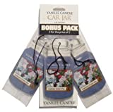 Yankee Candle Garden Sweet Pea 3 Pk Car Jars Scented Candle