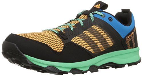 adidas Performance Men's Kanadia 7 TR M Trail Running Shoe,Solar Blue/Black/Gold,12 M US