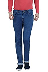 Louppee Jeans Men's Relaxed Jeans (Vkgroup-443_Stone Blue_38)