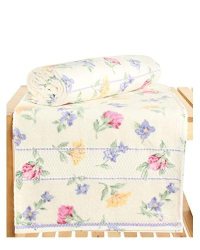 Maisonette Izabel 2-Piece Bath Towel Set, Lilac