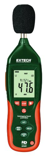 Extech Hd600 Datalogging Sound Level Meter