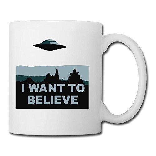 Funny Ufo__i_want_to_believe Ceramic Mug,11oz