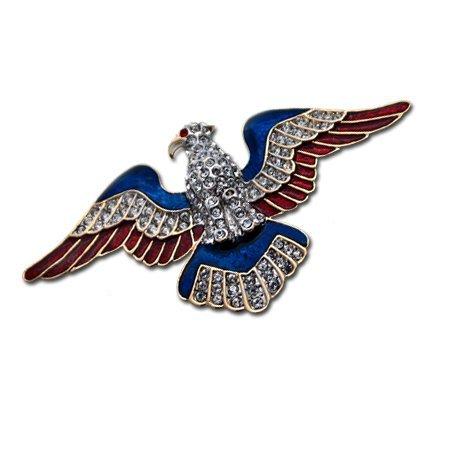 Patriotic Eagle Pin