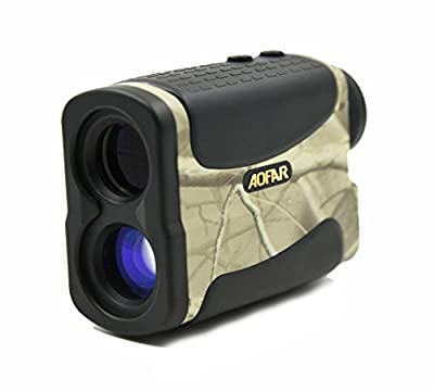 6 x 25 Laser Rangefinder 1200M Waterproof Telemeter Range finder for Hunting Racing by Itechsun
