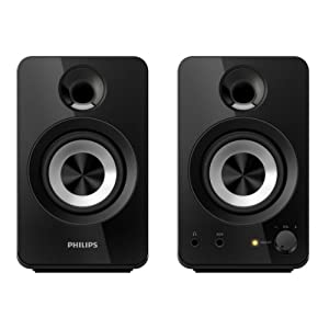 Flat 56% Off on Philips Multimedia Speakers 2.0 SPA1260/12 - Amazon
