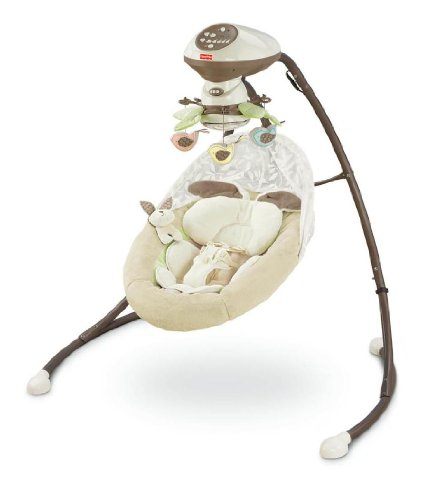 Fisher-Price mi cuna Snugabunny poco 'n de Swing