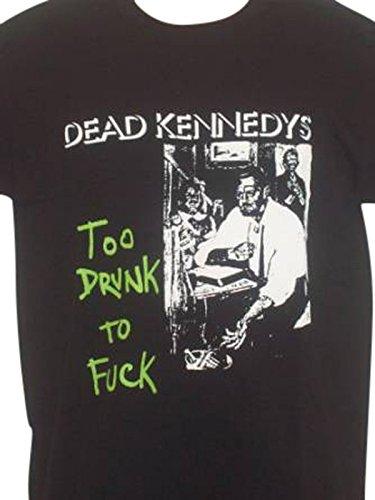 Da uomo DEAD KENNEDYS' anche Drunk da F a F * c.k, T-Shirt XXL