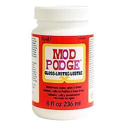 Plaid CS11201 Mod Podge All-in-1 Glue Set 8-Ounce Gloss