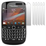 BLACKBERRY BOLD 9900 SCREEN PROTECTOR / GUARD / FILM / COVER 6-IN-1 PACKby TERRAPIN