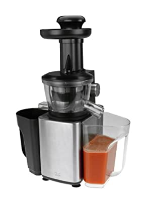 Kalorik FE 40764 SS Stainless Steel Slow Juicer