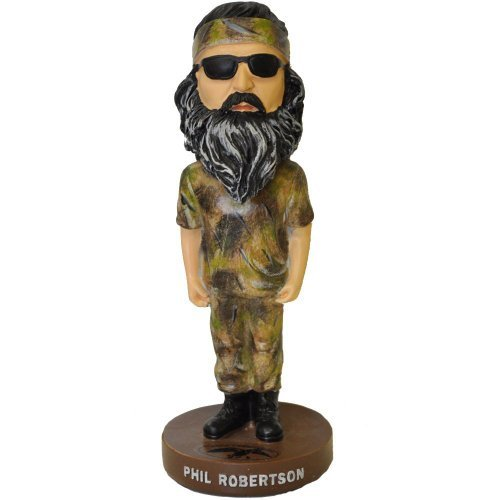 "7"" Phil Robertson Bobble Head Doll - As Seen on Duck Dynasty - 1"
