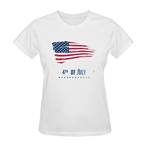 Huang Yu Women's Independence Day T Shirt Medium