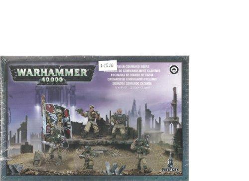 Cadian Command Squad Plastic Warhammer 40K