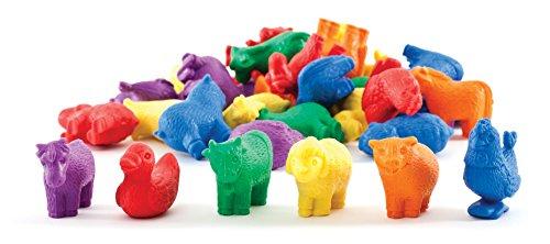 Carson-Dellosa Thinking Kids' Math Farm Animal Counters - 1