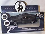 Corgi james bond 007 aston martin DBS dark grey car 1.36 scale diecast model