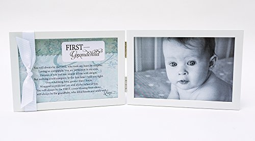 First Grandchild Gift for New Grandparents - Poetry Frame - 1