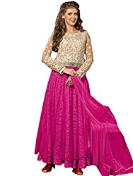 Kmozi Pink Latest Designer Anarkali Suits Buy Online