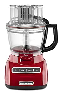 KitchenAid KFP1322ER 13-Cup Food Processor, Empire Red
