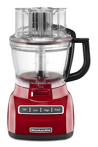 Kitchenaid Kfp1322Er 13-Cup Food Processor With Exact Slice System, Empire Red front-478985