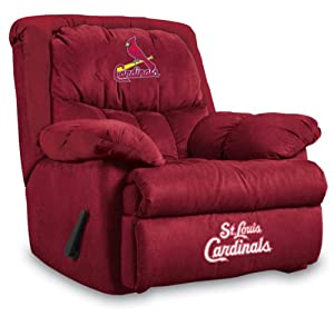 MLB St. Louis Cardinals Home Team Microfiber Recliner by Imperial