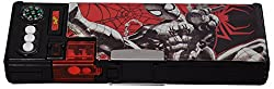 Disney Mickey Mouse / Cinderella / Princess / Star Wars both side Magnetic Plastic Multi-functional Pencil Box with Navigator, Temperature Reader, Sharpener and many other features, Multi color (Spider-Man)