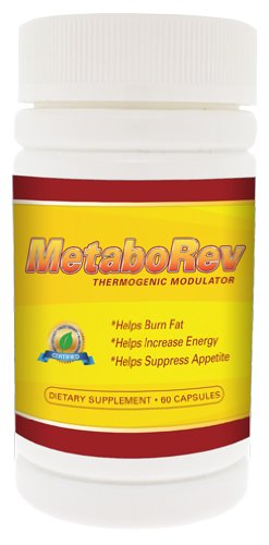 MetaboRev Pharmaceutical Grade Weight Loss Diet Fat Burner Increase Energy Zylene 1.1 Alternative