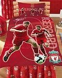 Liverpool Football Gerrard Double Duvet Cover Set